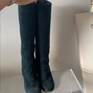 Ash Suede knee high boot